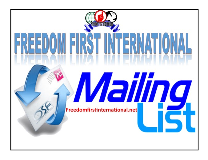 Freedom First ML