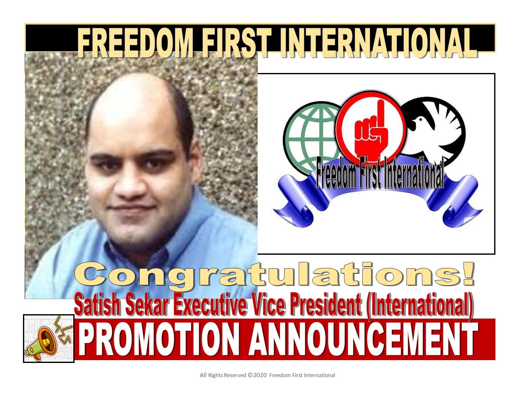 Satish Sekar Promo